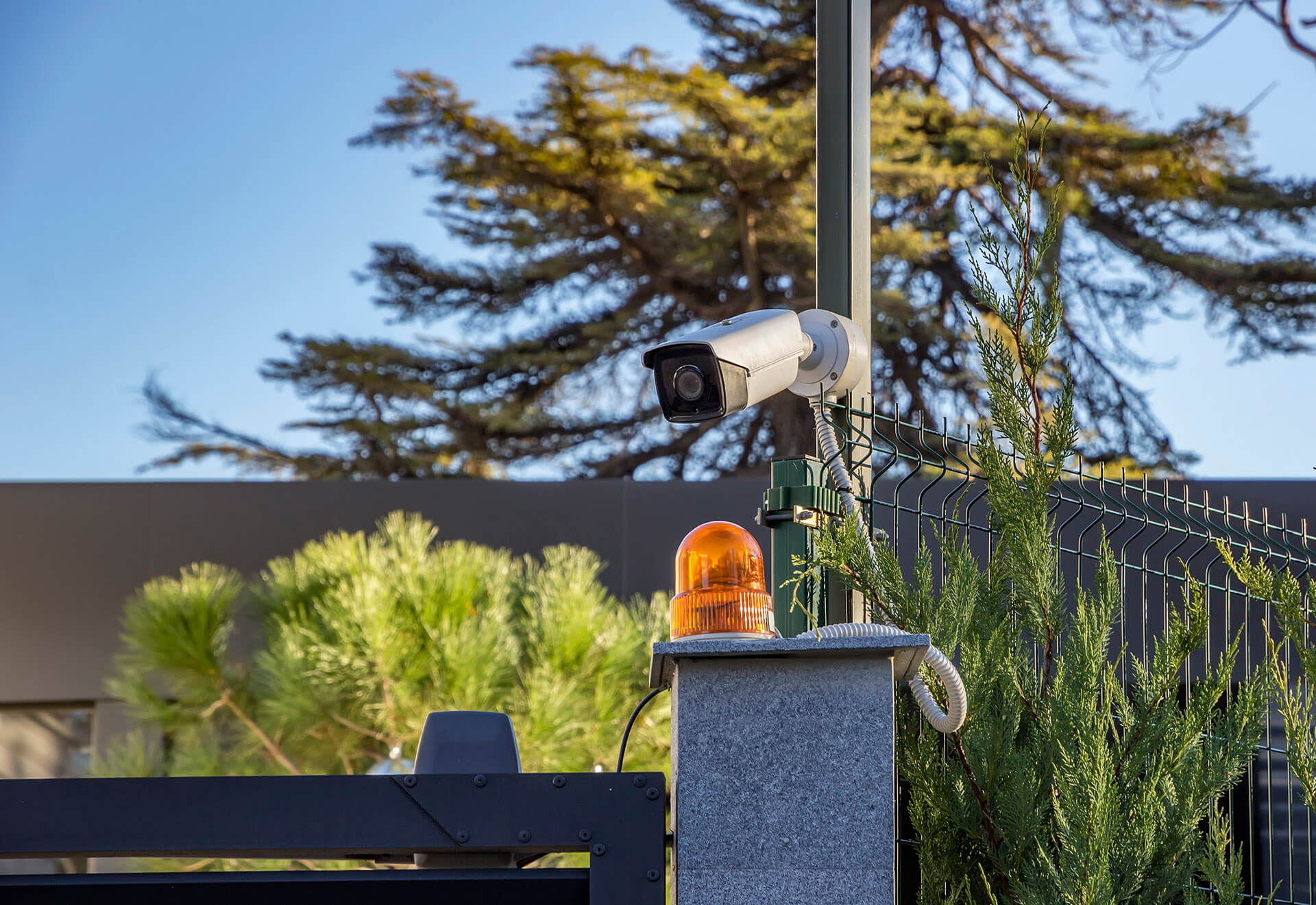 Security Equipment Camera Outdoors